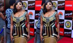 Annie Idibia's dress lands her critisms (See photos)