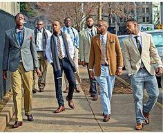 Yaaaaaaaaaaaaaas well dressed young black men...