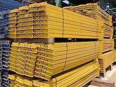 Used Republic Pallet Rack Beams - by SJF.com