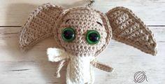 Dobby Keychain Free Crochet Pattern • Spin a Yarn Crochet