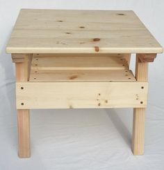 DIY Project, Kids Solid Wood Activity Table, Toddler+ Boy or Girl, Childrens Furniture Ready to Paint or Stain, Reclaimed Wood by HappyChairsandMore on Etsy