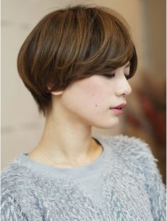 Short Hair Cuts For Women, Girl Short Hair, Love Hair, Great Hair, Shot Hair Styles, Magic Hair, Asian Hair, Short Hairstyles For Women, Hair Today