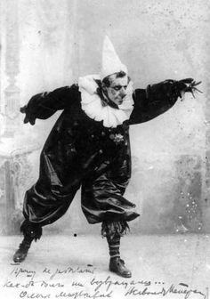 V. Meyerhold en Pierrot