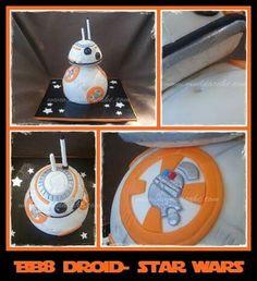 BB-8 Droid Cake by www.muddacake.com