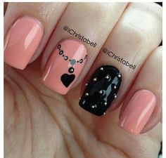 Romantic Heart Nail Art Designs – For Creative Juice Romantic Heart Nail Art Designs – For Creative Juice,nails Romantic Heart Nail Art Designs – For Creative Juice Related posts:This could be. Cute Nail Art, Cute Nails, Pretty Nails, My Nails, Heart Nail Art, Heart Nails, Heart Nail Designs, Cute Nail Designs, Nagellack Trends