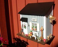 Briefkästen - Briefkasten aus Holz, skandinavischer Stil,grau... - ein Designerstück von pascalou-filou bei DaWanda