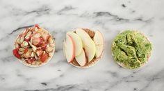 Rice Cakes Three Ways by @angelareneemuir