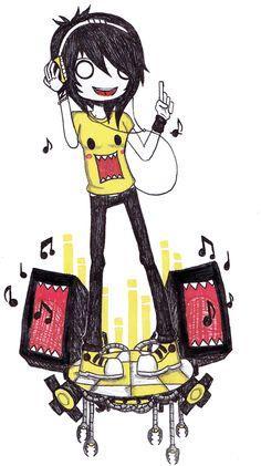 Feel The Music Shaz by 357E on DeviantArt