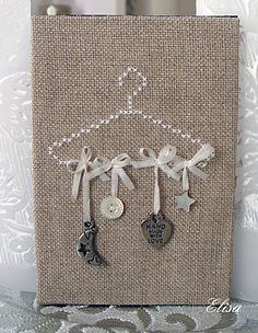 sweet HANGING CHARMS - A FUN WAY TO GIVE OR TO DISPLAY. CAN ANYONE TEACH ME HOW TO DO THOSE BOWS? SO PRETTY!