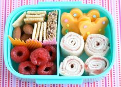 Sandwich Sushi Bento. Roll up the kids sandwiches into 'sushi shaped' pieces and they'll be nibbling in no time