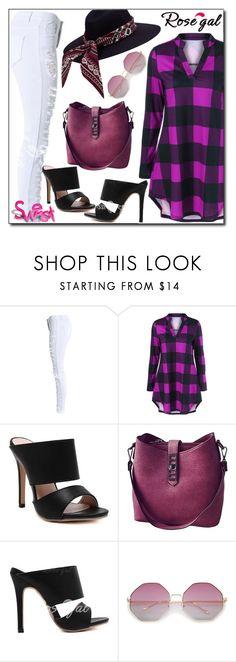 """""""Rosegal"""" by boky-d ❤ liked on Polyvore featuring casual, plaid and rosegal"""