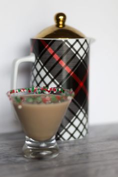 Christmas Cookie Cocktail made with Sweet'N Low®