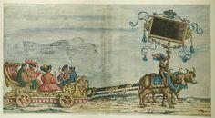 Artist: various, Title: »Triumphzug Kaiser Maximilians« Blatt 32, Date: 1526, Note: colouring done in 1765 by Josef Hoeger