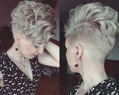 Die Letzte Kurze Lockige Frisuren für Damen