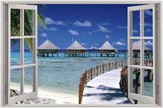 open window beach view - Google Search