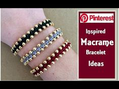 Handmade Jewellery Leicestershire upon Jewellery Storage, Jewellery Shops Melbourne until Handmade Jewellery Ideas For Sale Macrame Jewelry, Macrame Bracelets, Handmade Bracelets, Earrings Handmade, Handmade Jewellery, Macrame Thread, Jewellery Box, Jewellery Storage, Jewellery Designs