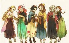 Japanese princesses