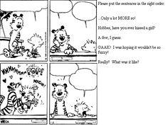 Classroom comic strip printable