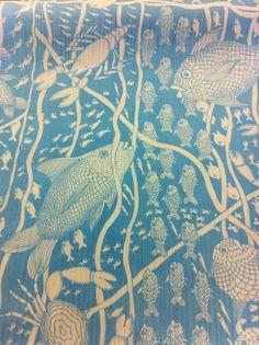 pinkpagodastudio: Tillet Textiles--Hand-Printed Fabrics