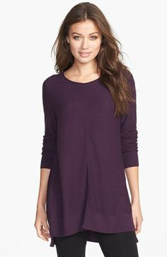 Eileen Fisher Organic Cotton Bateau Neck Top (Regular & Petite) available at #Nordstrom