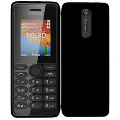 Nokia 108 dual-SIM is quite small when compared to the modern day full touch smartphones. Nokia 108 has a typical Nokia candy bar form factor with a display sporting a resolution of pixels. Dual Sim Phones, Smartphone, Windows Phone, Sims, Black, Mobile Phones, Wi Fi, Dual Sim, Friends