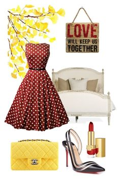 Love will keep us together by giubagnols on Polyvore featuring polyvore, fashion, style, Estée Lauder, Dauphine, WALL, Chanel and clothing