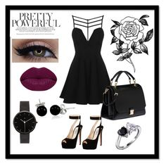 """""""Nightcore"""" by missxamericax ❤ liked on Polyvore featuring beauty, Topshop, Prada, Miu Miu, Bling Jewelry, Forever 21, Winky Lux and I Love Ugly"""
