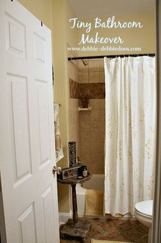 Bathroom Makeovers For Less river rocks in your master bath sinks to give your room a spa feel