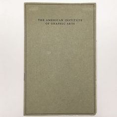 "#AskAnArchivist: Oldest #AIGAarchives item?⠀ ⠀ The American Institute of Graphic Arts 1914 by-laws⠀ ⠀ Objectives, as listed on page 3:⠀ ⠀ ""To stimulate and encourage artists engaged in the graphic arts; to form a center for intercourse and for exchange of views of all interested in these arts; to publish books and periodicals, to hold exhibitions in the United States and to participate as far as possible in the exhibitions held in foreign countries relating to the graphic arts; to invite…"