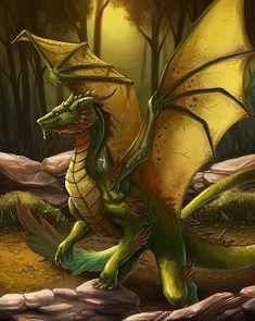Green dragon cross stitch pattern fantasy cross stitch