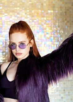 Madelaine Petsch: Prive Revaux x Madelaine Collection 2018 adds Cheryl Blossom Riverdale, Riverdale Cheryl, Riverdale Cast, Watch Riverdale, Madelaine Petsch, Vanessa Morgan, Ariana Grande Selena Gomez, Gorgeous Redhead, Beautiful