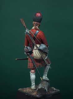 British Army Uniform, American War, British Colonial, Miniatures, Superhero, Soldiers, 18th, Indian, French