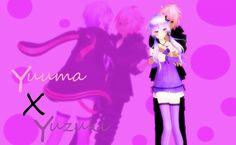Yukari Yuzuki and VY2 Yuuma