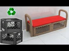 Sisal, Jute Crafts, Settee, Door Design, Reuse, Crates, Cabinet, Storage, Amazing
