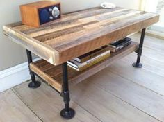 how to make a steel pipe table - Google Search