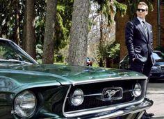 Harvey Specter Mustang