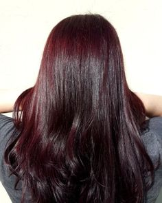 Are you looking for dark winter hair color for blondes balayage brunettes? See our collection full of dark winter hair color for blondes balayage brunettes and get inspired! Red Blonde Hair, Plum Hair, Dark Red Hair, Hair Color Dark, Light Brown Hair, Burgandy Brown Hair Color, Matrix Hair Color, Winter Hair Colour For Blondes, Curly Girls