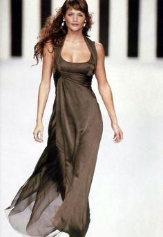 Helena Christensen for Valentino Fall/Winter 1994