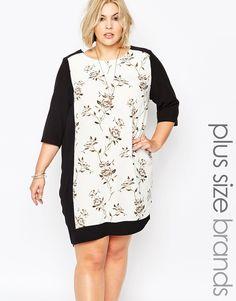 Carmakoma Plus Size Calca Shift Dress