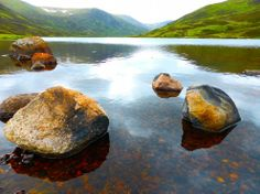 Loch Callater - a real hidden gem on the north part of Jock's Road between Braemar and Glenshee Playground, The Good Place, Gem, Rustic, Places, Outdoor, Children Playground, Country Primitive, Outdoors