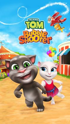 Hanging Off The Wire: Talking Tom Bubble Shooter