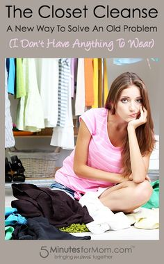 The 7-Step Closet Cleanse Do you want to get rid of 90% of your closet? Ashley felt like she actually had more to wear after she did this closet cleanse. She's condensed and shared her Closet Cleanse in this post...