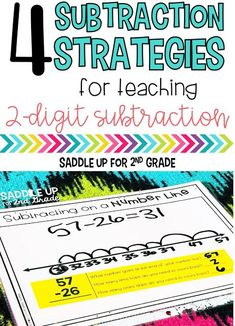 Subtraction Strategies: 4 Methods for Teaching 2-Digit Subtraction