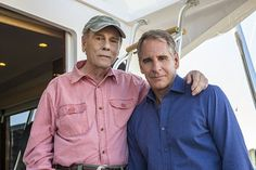Behind the scenes of the CBS series NCIS New Orleans, scheduled to air on the CBS Television Network. Pictured L-R: Dean Stockwell and Scott Bakula Photo: Skip Bolen/CBS CBS Broadcasting, Inc. All Rights Reserved Zoe Mclellan, Dean Stockwell, Nbc Series, Lucas Black, Ncis New, Sci Fi Tv Shows, Science Fiction Series, Quantum Leap, Netflix Streaming