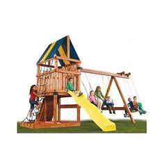Swing-Set-Kit-Outdoor-Kids-Playground-Playset-Backyard-Jungle-Gym-Custom-Build