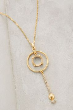 Circle-Swing Pendant Necklace - anthropologie.com #anthrofave