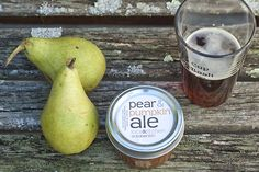 My sis-in-law made this and gave us a jar. Can't wait to open it up on Thanksgiving day! Pear & Pumpkin Ale Preserves!!!
