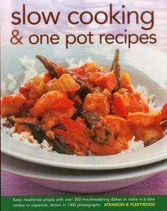 This cookbook is designed for those with busy lives who want to eat tasty, nutritious meals without the need for fussy or time-consuming cooking techniques. A detailed reference section describes all the equipment, including slow cookers, clay pots, tagines, tians, chicken bricks, bean pots, casseroles, pans and woks.