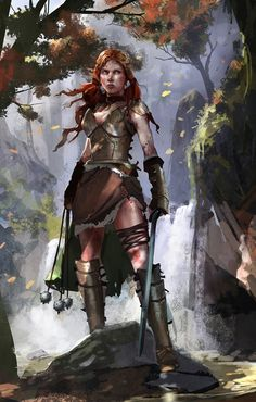 She had promised to find the bandits and she would not go back on her promise.  By Brenoch Adams