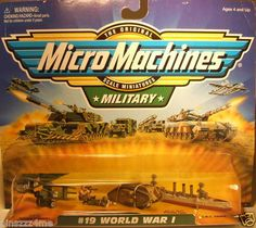 Hard to Find Galoob Micro Machines Military 19 World War 1 Collection | eBay